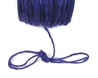 Purple, 2 mm hemp cord