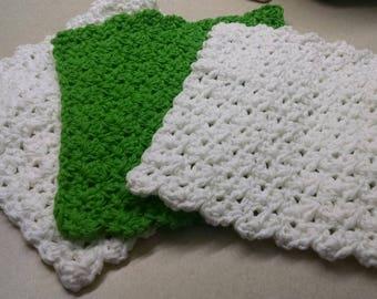 100% Cotton Washcloth/Dishcloth