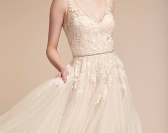 New bride dress without wearing