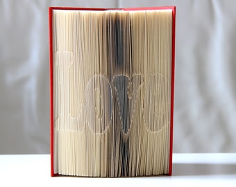Love No. 4-Folded book