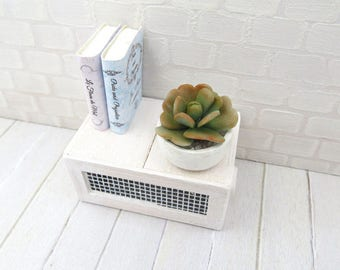 Succulent Calancoe in pot for dollhouse in 1:12 scale