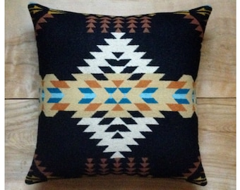 Southwestern Pillow • Southwest Decor • Tribal Pillow • Western Decor • Bohemian Pillow • Boho Decor • Tribal Arrows • Rancho Arroyo Black