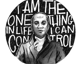Wait For It - Aaron Burr - Leslie Odom Jr. in Hamilton the Musical - Art Print
