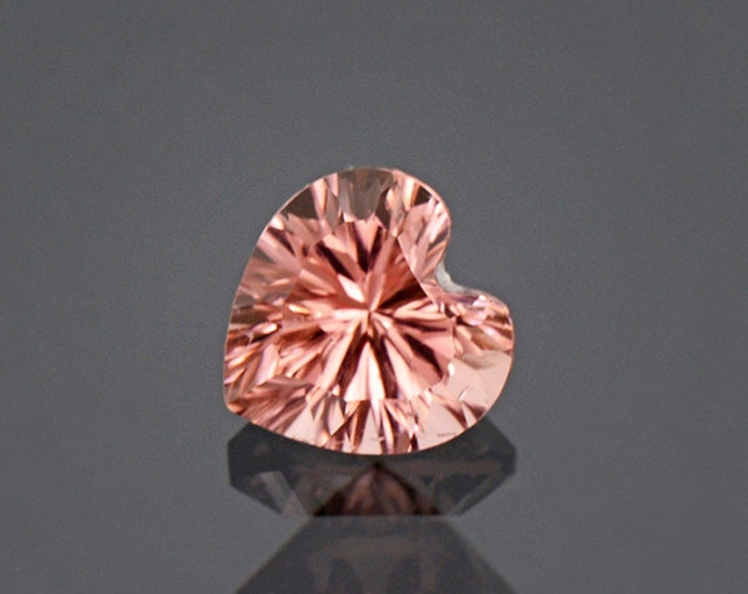 FLASH SALE! Fantastic Peachy Pink Heart Tourmaline Gem from Afghanistan 2.04 cts