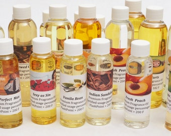 Lot of 8 bottle X 1 Oz or 2 Oz PREMIUM FRAGRANCE OIL for Candles /Soap Making Supplies /Tart /Oil Warmer /Beauty and more