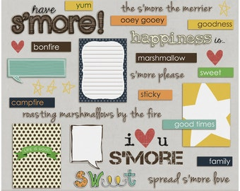 Have Smore - Word Art & Titles for Digital Scrapbooking