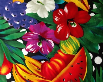Jungle Fruit Alexander Henry Series Out Of Print sold in 1/2 yard increments