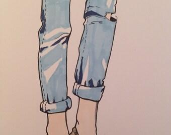 Fashion illustrations- completely customizable