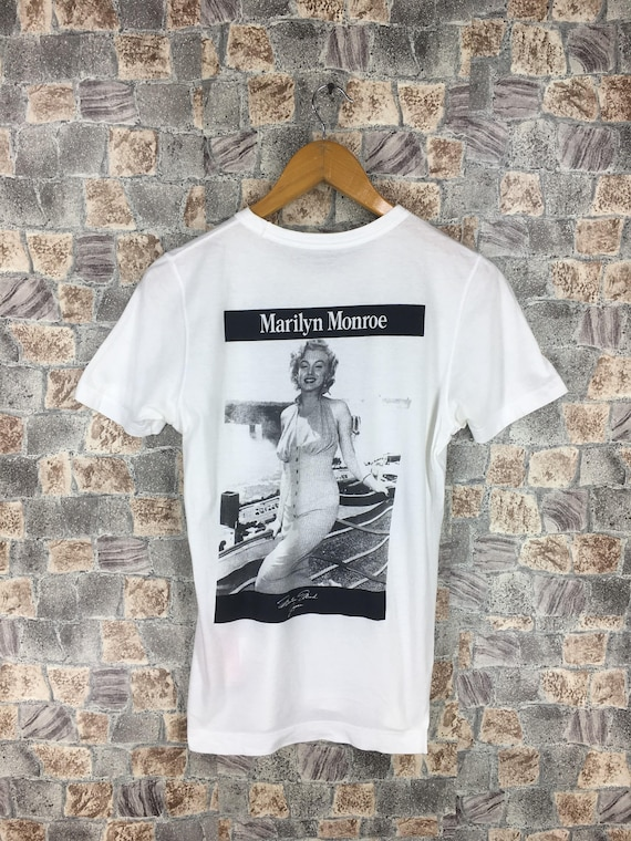 Japan Yohji Niagara Monroe Size shirt MASTERMIND S Des Tshirt Vintage Movies In Made T Marilyn Comme RcvvwafqF