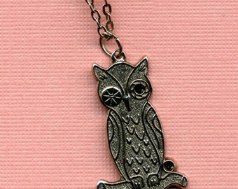 Sassy Owl Necklace
