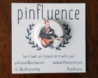 "1.25"" George Michael Faith Pin Badge - RIP George Michael Pinback Button - George Michael Pins - George Michael Badges"