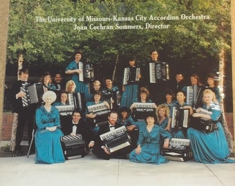 University Of Missouri Kansas City Accordion Orchestra Joan Cochran Sommers Sealed Vinyl Accordion Record Album