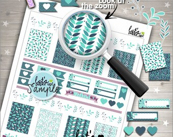 60%OFF - Leave Stickers, Printable Planner Stickers, Weekly Stickers, Floral Stickers, Winter Stickers, Planner Accessories, Weekly Kit
