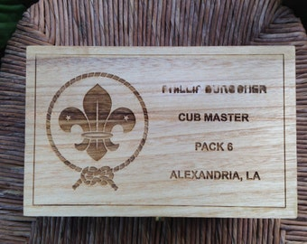 Scout Leader Memory Box