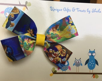 Beauty and the Beast; Belle Hair Bow