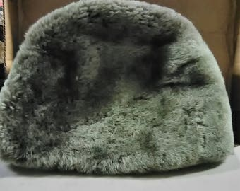 Stetson Genuine Gray Fur Hat made in Canada.