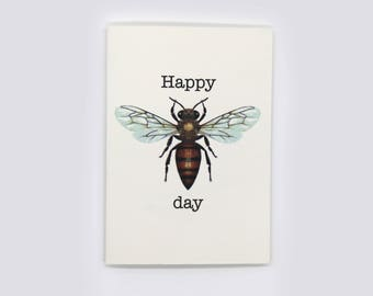 6-pack Happy Bee Day gift cards