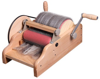 Ashford Drum Carder, Fine, With Tools, Free Shipping!