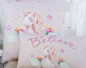 Unicorn Pillow in 2 sizes