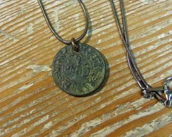 Ancient Indian Coin Pendant