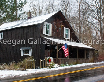 A General Store in Winter