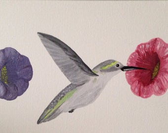 Hummingbird Canvas