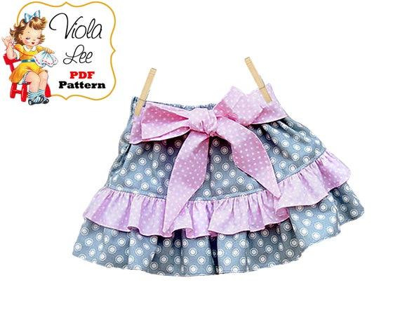 Toddler Skirt Patterns. Girls Skirt Patterns. pdf Sewing Patterns ...