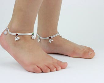 Kids ankle bracelet | Etsy