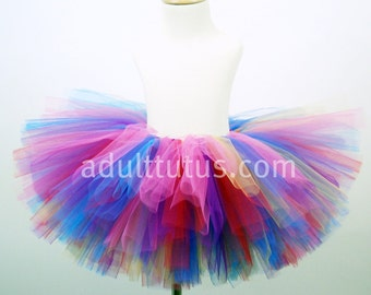 Birthday Candy Adult Tutu Running Clown Tutu RTS