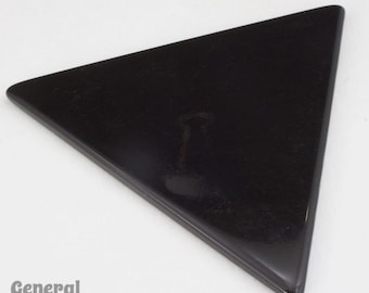 60mm Black Equilateral Triangle Blank (4 Pcs) #3994