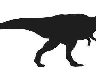 TREK DINOSAUR Vinyl Decal Sticker IPhone IPod Tablet Car Window Laptop Wall Choose Color and Size