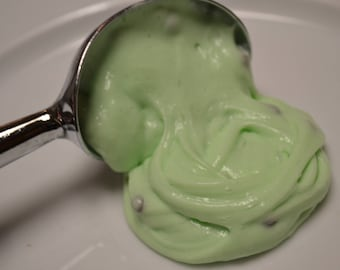 Mint chocolate chip slime