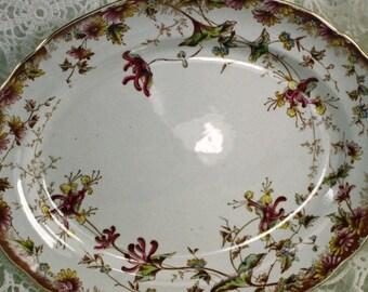 Exquisite Crown Devon China Serving Platter