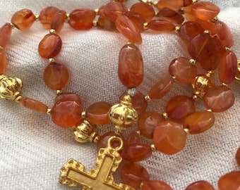 Carnelian Rosary