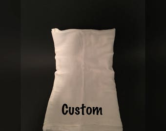 Custom flour sack towels