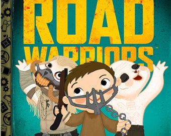 The Little Road Warriors - 8x10 PRINT