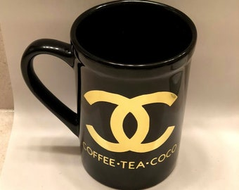Coffee Tea Coco Chanel Mug