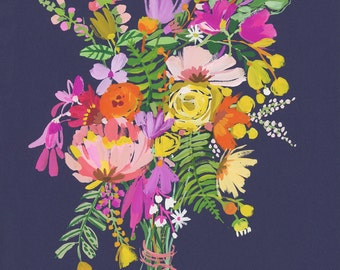 Mixed Bunch Bouquet Floral wall print
