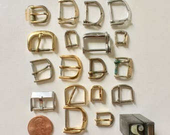 Vintage Wrist Watch Buckles for Crafts Jewelry Making and Collage