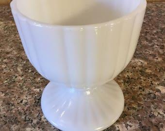 Vintage Milk Glass  Vase . . .