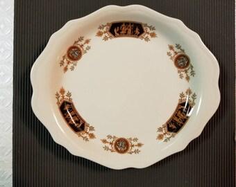 Syracuse China, Grecian Pattern, Serving Platter/Dinner Plate 12C