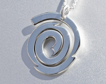 Galaxy Silver Pendant, Sterling Silver Jewellery, galaxy