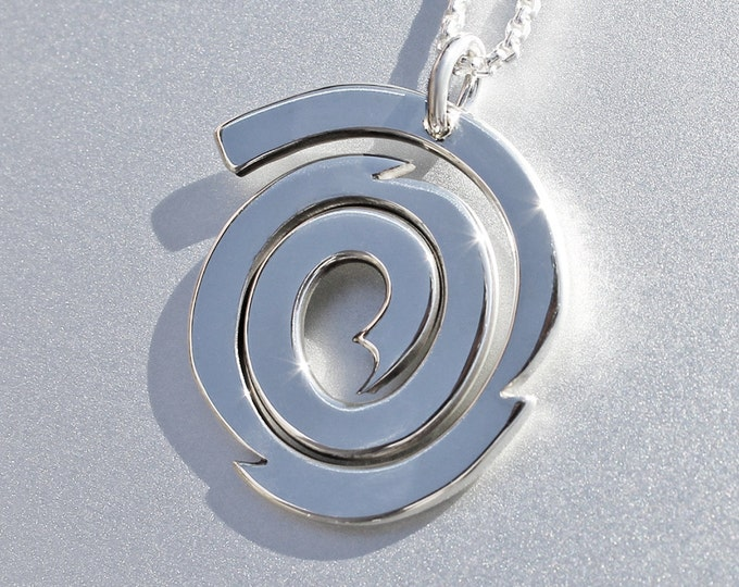 Galaxy Silver Pendant, Sterling Silver Jewellery, galaxy