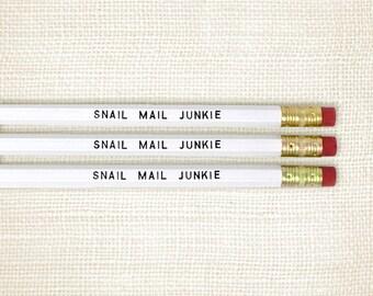 Ensemble de crayon, Stuffer - Snail Mail Junkie de bas