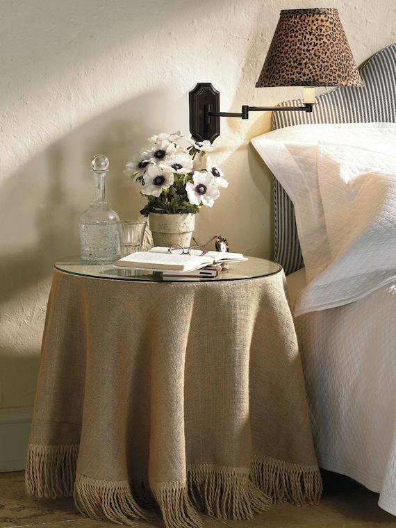 Delicieux Burlap Tablecloth Round Burlap Tablecloth Rustic Burlap