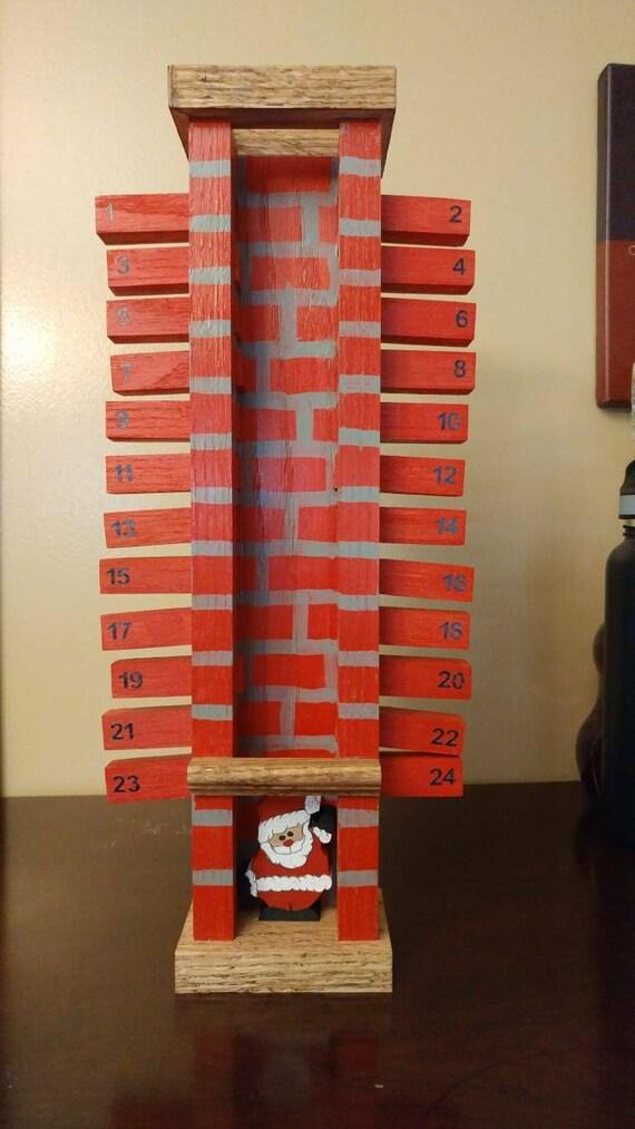 Santa Claus Chimney Advent Calendar