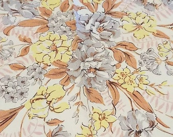 pink and yellow floral tablecloth free shipping U.S only