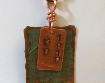 Maine State House Copper Roof Necklace Limited Edition RM
