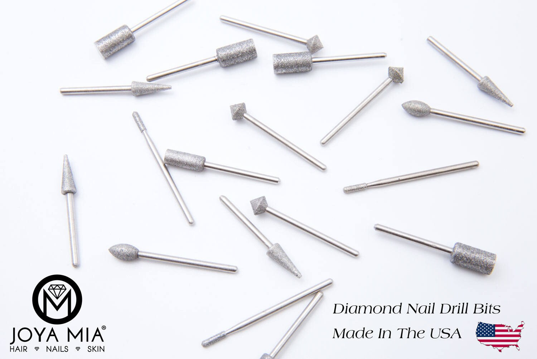 Diamond Nail Drill Bits- made in the USA from JOYAMIAShop on Etsy Studio