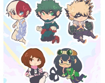 Bnha Phonecharms and Keychains